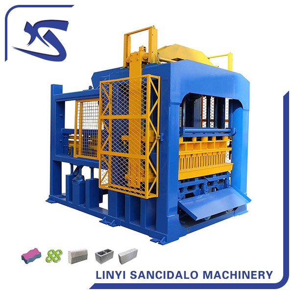 QT8-15 full automatic fly ash brick making machine price