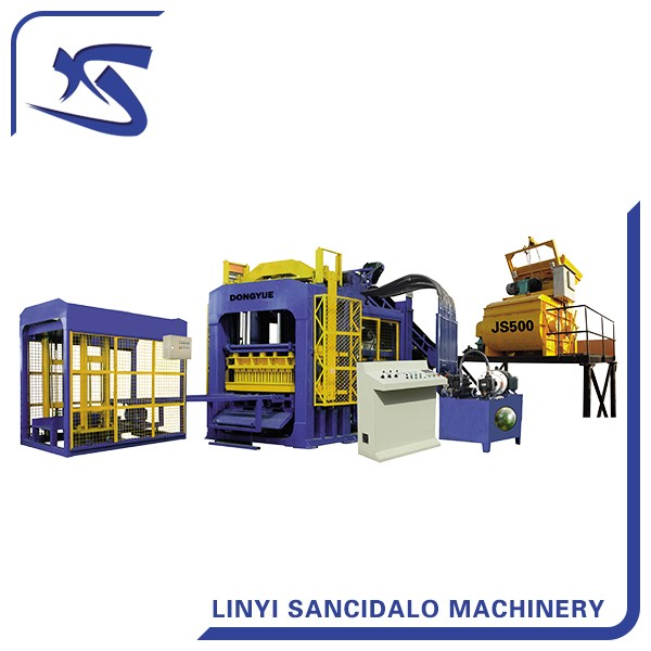 QT6-15 automatic concrete block making machine price list