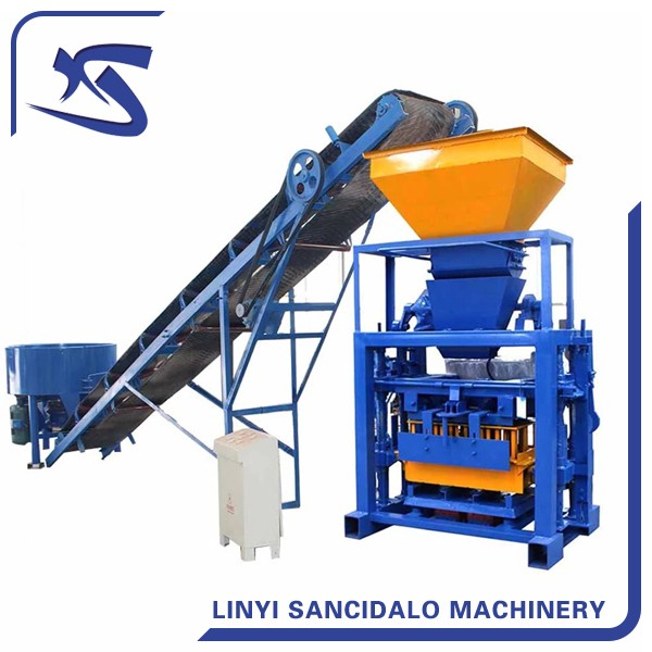 Low cost QT40-1 cement brick making machine/hollow block machine for sale